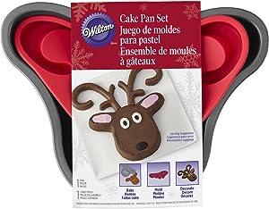 Wilton Reindeer Cake Pan Set