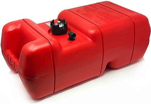 6 Gallon Plastic Portable Marine Boat Outboard Fuel Tank [Five Oceans] Picture