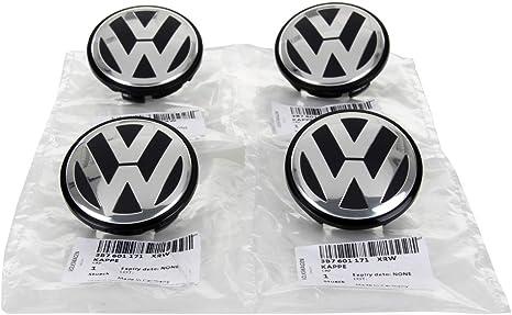 Amazon.com: VW Volkswagen 4 tapas de 0.255 pies para centro ...