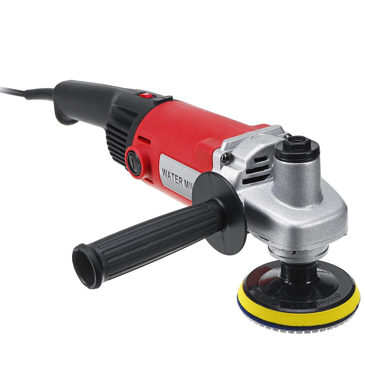 MOPHOTO 4-Inch Variable Speed Random Orbital Polisher Kit, Countertop Wet Sander Grinder w/Diamond Pads for Marble/Stone/Granite, USA Warehouse Shipment by MOPHOTO (Image #4)