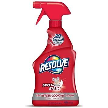 Amazon.com: Resolve Carpet Spot & Stain Remover, 22 fl oz Bottle, Carpet Cleaner: Health & Personal Care