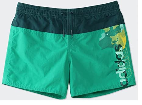 172036c2ff0 アディダス (adidas) 男子キッズ 水泳用パンツ 水着 youth boys lineage short mid length