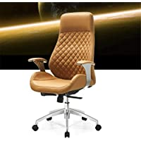 Ergonomic Chair Office Desk Chair High-grade Leather Boss Chair Backrest Reclining Adjustable Comfortable Executive…