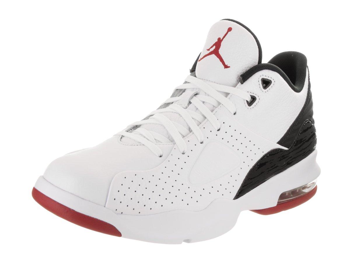 Nike Jordan Men's Jordan Air Franchise White/Gum/Red/Blacl Basketball Shoe 10.5 Men US by Jordan