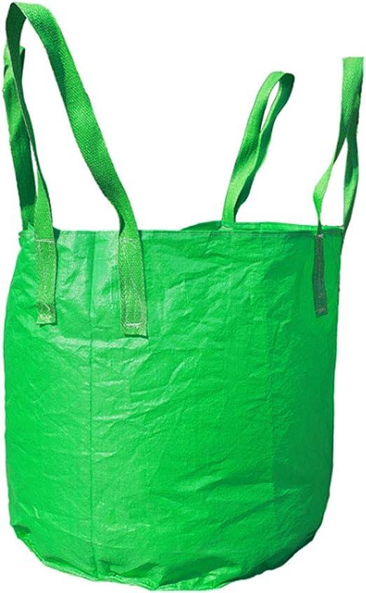 SUSHOP FIBC Granel Constructores Jardín Jumbo 1, 5 Ton Ton Bolsa de residuos Sacos a Granel Bolsa Jumbo de Reciclaje de Almacenamiento de residuos de jardín (Verde): Amazon.es: Jardín