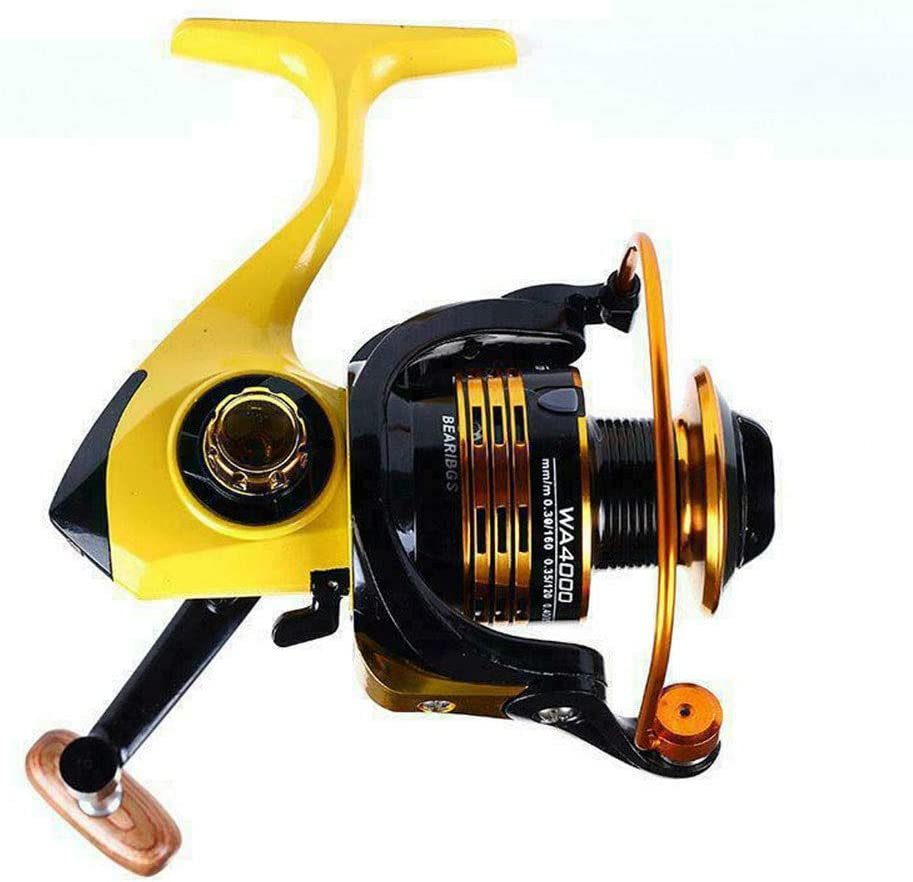 FRHP Spinning Fishing Reel Ligero Peso Ultra Suave Potente Rueda ...