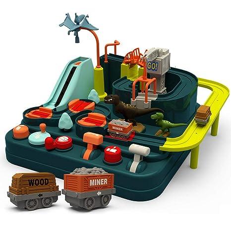 Car Adventure Game Education Adventure Railcar Toys For Children Boy Girl Gift
