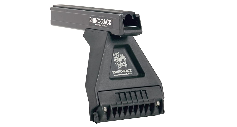 RhinoラックGMC Savana 2dr van 2003 to 2017 – Heavy Duty rl150gmcブラック3バー屋根ラック B0752ZT14V