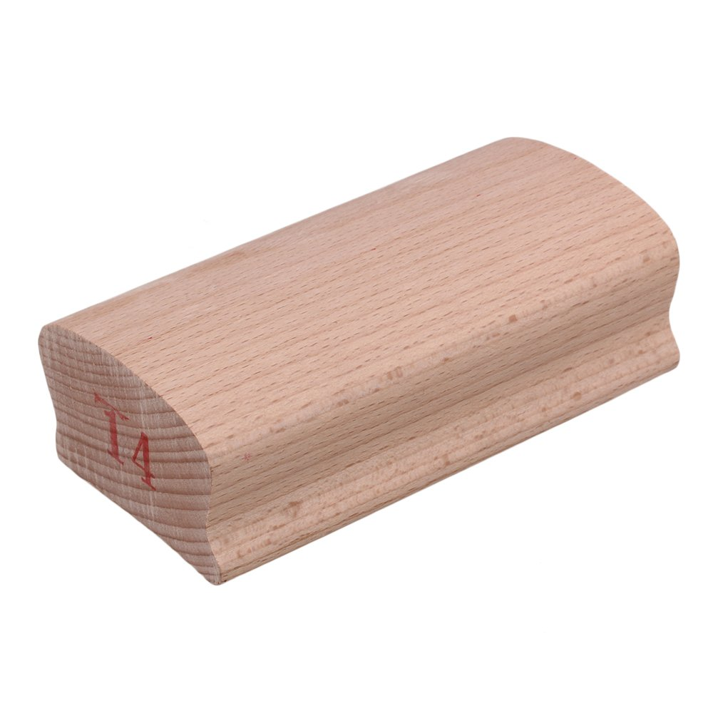 BQLZR 12# Wood Guitar Fingerboard Radius Sanding Block DIY Tool for Luthier BQLZRN27876