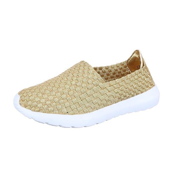 Ital-Design Slipper Damenschuhe Herren Unisex Low-Top Leichte Halbschuhe:  Amazon.de: Schuhe & Handtaschen