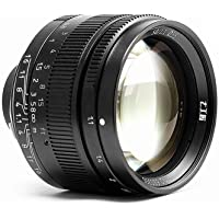 7artisans 50mm f1.1 Manual Lens for Leica M Mount M-M M3 M6 M7 M8 M9p M10 Black