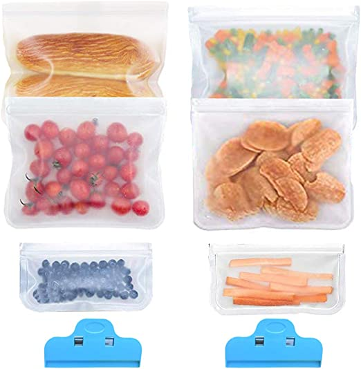 Bolsa Comida Reutilizable, Bolsas de Congelador de Alimentos ...