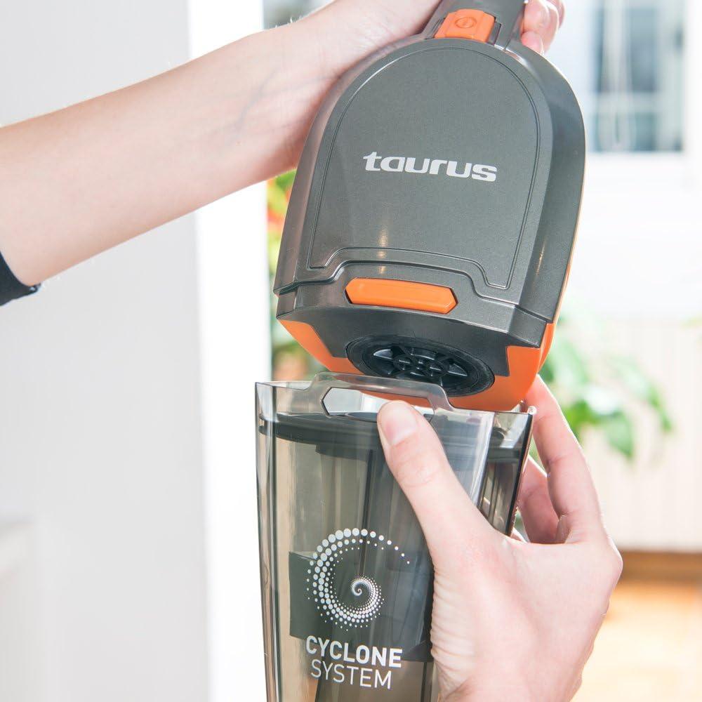 Taurus Unlimited 25.6 Lithium Scopa Elettrica Plastic