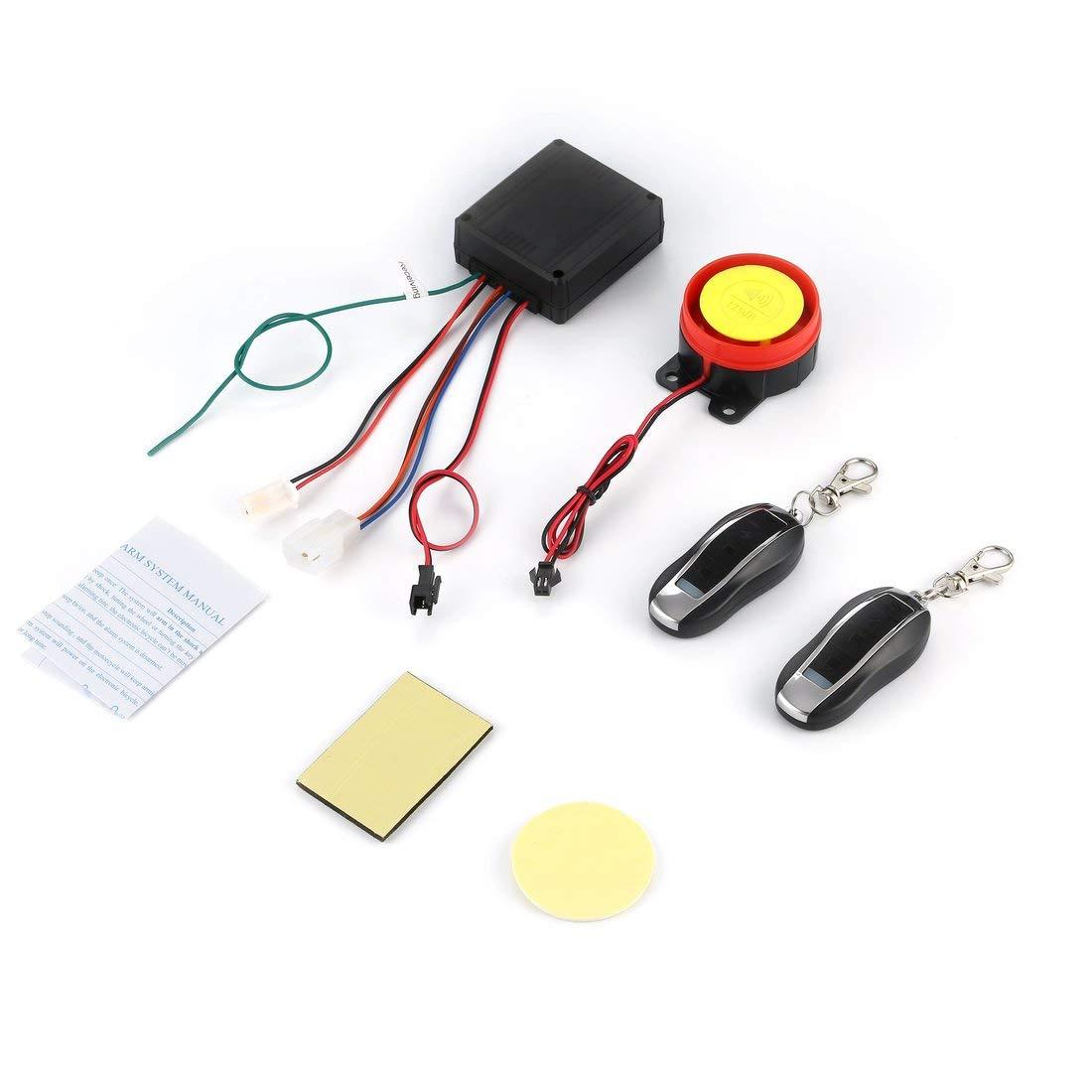 Système d'alarme de Moto de Voiture imperméable à l'eau Anti-vol de sécurité à Distance de contrôle à Distance antifurto Auto en Gros de Haute qualité CLSK Formulaone