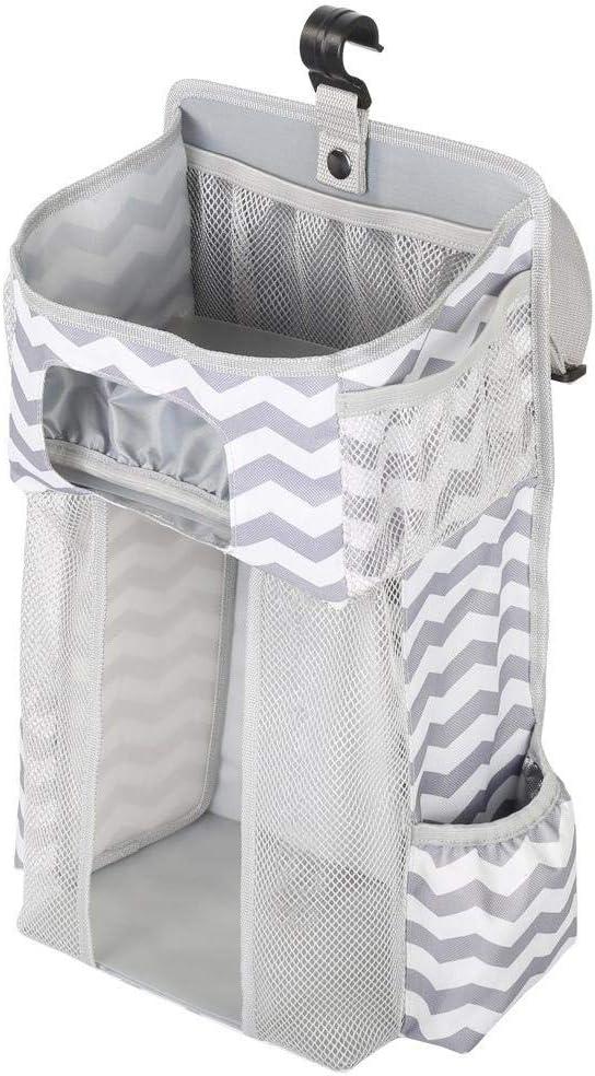 Playard Muitifuctional Diaper Nappy Toys Storage Bag For Crib N//V Hanging Nursery Organizer Nappy Diaper Caddy Organiser Baby Stroller Or Wall