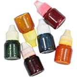 Asian Hobby Crafts Colour Pigment for Candle Making (Pack of 6)