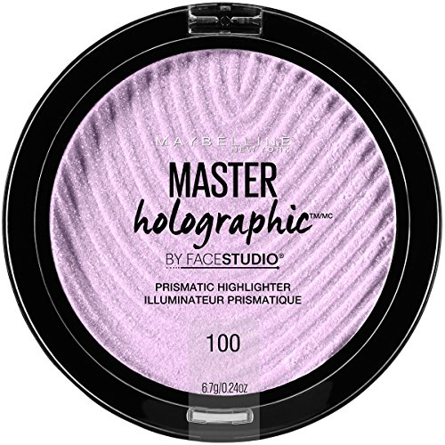 Maybelline New York Facestudio Master Holographic Prismatic Highlighter Makeup, Purple, 0.24 oz.