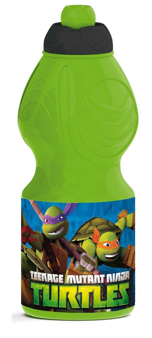 Stor 48432 - piccola bottiglia sport, design Ninja Turtles Otto Simon