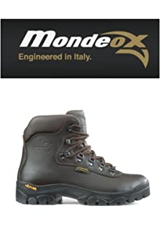 MONDEOX Setter Ox 4 Scarpone da Trekking in Pelle Fondo Vibram Ultra ... 2070b6ec517