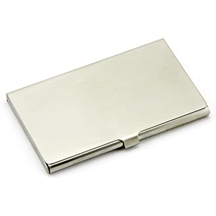partstock business card holder stainless steel business card case for men women keep - Pocket Business Card Holder