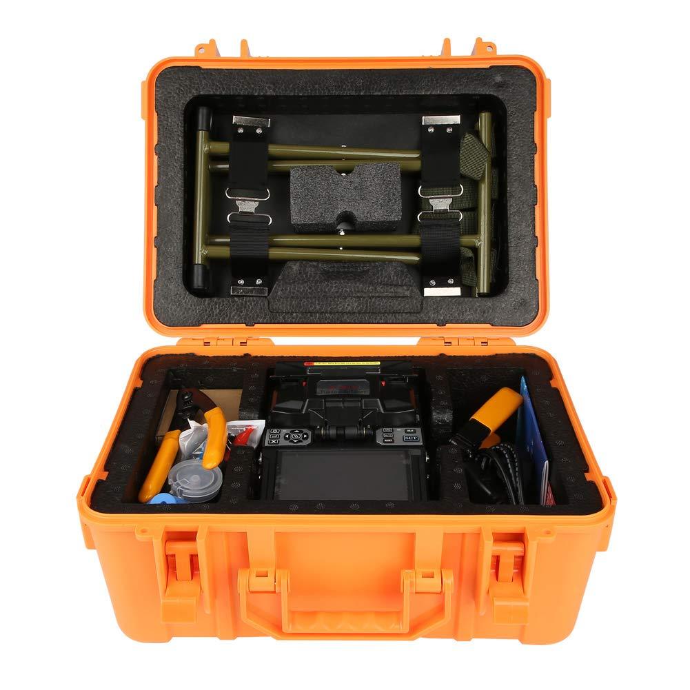 Giuntatrice di fusione di fibra giuntatrice di fusione di fibra ottica di saldatura a fibra ottica della macchina A-81S eu 110-240 V 220 V