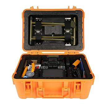 5in Máquina de Empalmadora de Fusión de Fibra óptica de Alta Precisión LCD Máquina Empalmadora de