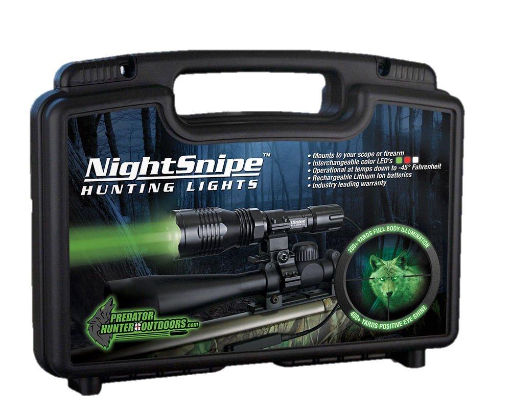 Class-1 NightSnipe Hunting Light Kit (Green) by Night Sniper (Image #1)