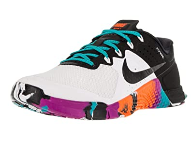 886afff4cde9 Nike Women s Metcon 2 White Gamma Blue Hyper Violet Size 8  Buy Online at  Low Prices in India - Amazon.in