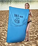 Beach Towel - Oversized Beach Towel - Microfiber