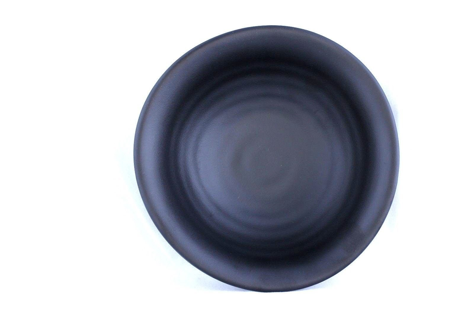 Lucky Star Melamine Soy Sauce Dishes Wasabi Sushi Sashimi Snack Dipping Round Plates, 5-3/4'' (8 oz) or 7-1/2'' (16 oz), Black (24, 7-1/2'' (16 oz)) by Lucky Star (Image #2)