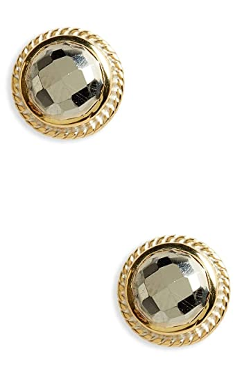 666bb669d Amazon.com: Anna Beck Designs 18k Gold-Plated Stud Earrings, Gold ...