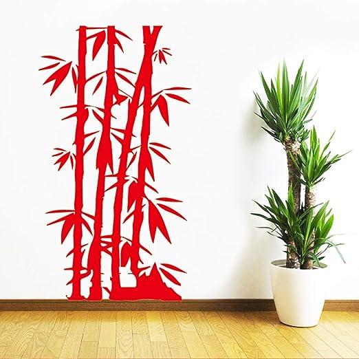 AiyoAiyo DIY Familia Pegatinas de Pared de Bambú Arte Mural ...