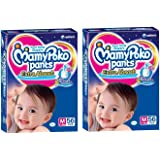 Mamy Poko Medium Size Baby Diapers (56 count) Pack of 2