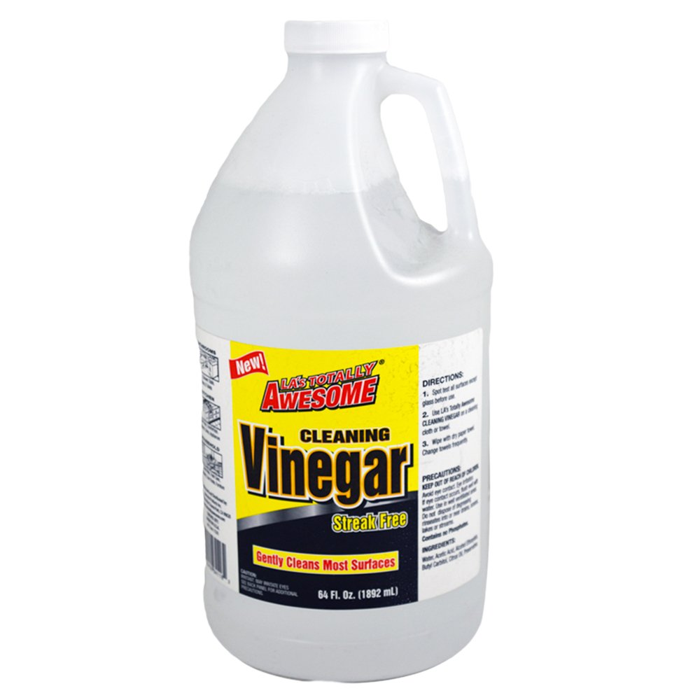 La's Totally Awesome Cleaning Vinegar -- 1/2 Gallon Jug (64 Ounce Jug)