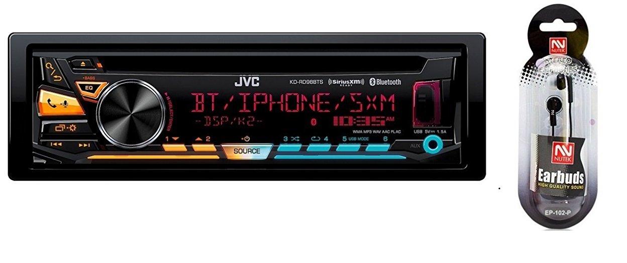 JVC KD-RD98BTS car receiver review