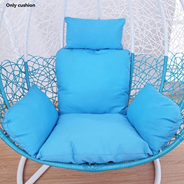 QTQZ A General Swing seat Cushion Thick nest Hanging Chair Back Without Chair-B