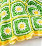 Daisy Garden Blanket Crochet Kit