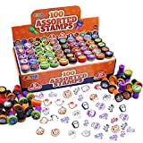 100 Pieces Halloween Assorted Stampers Kids