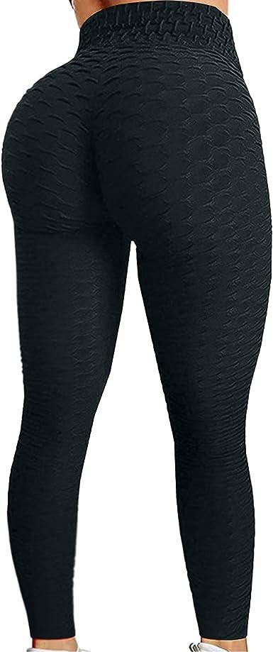 Biker Shorts for Women Tummy Control Tights Yoga Cycling Pants Compression Hip Lift Legging