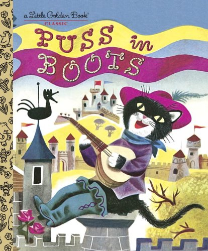 Puss in Boots (Little Golden Book)