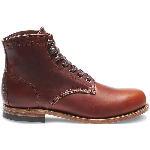 a7f70b34b2b Amazon.com | Wolverine Mens Original 1000 Mile Liberty Boot, Rust ...