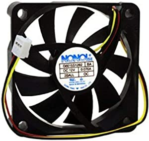 DBParts TV Exhaust Cooling Fan For Samsung HL50A650C1FXZA HL56A650C1FXZA HL61A650C1FXZA PN50C450B1DXZA HDTV Blower Motor, P/N: BP31-00025A, BP31-00029C, BP31-00029E, BN31-00026C, G6015S12B2 U60R12MMAB