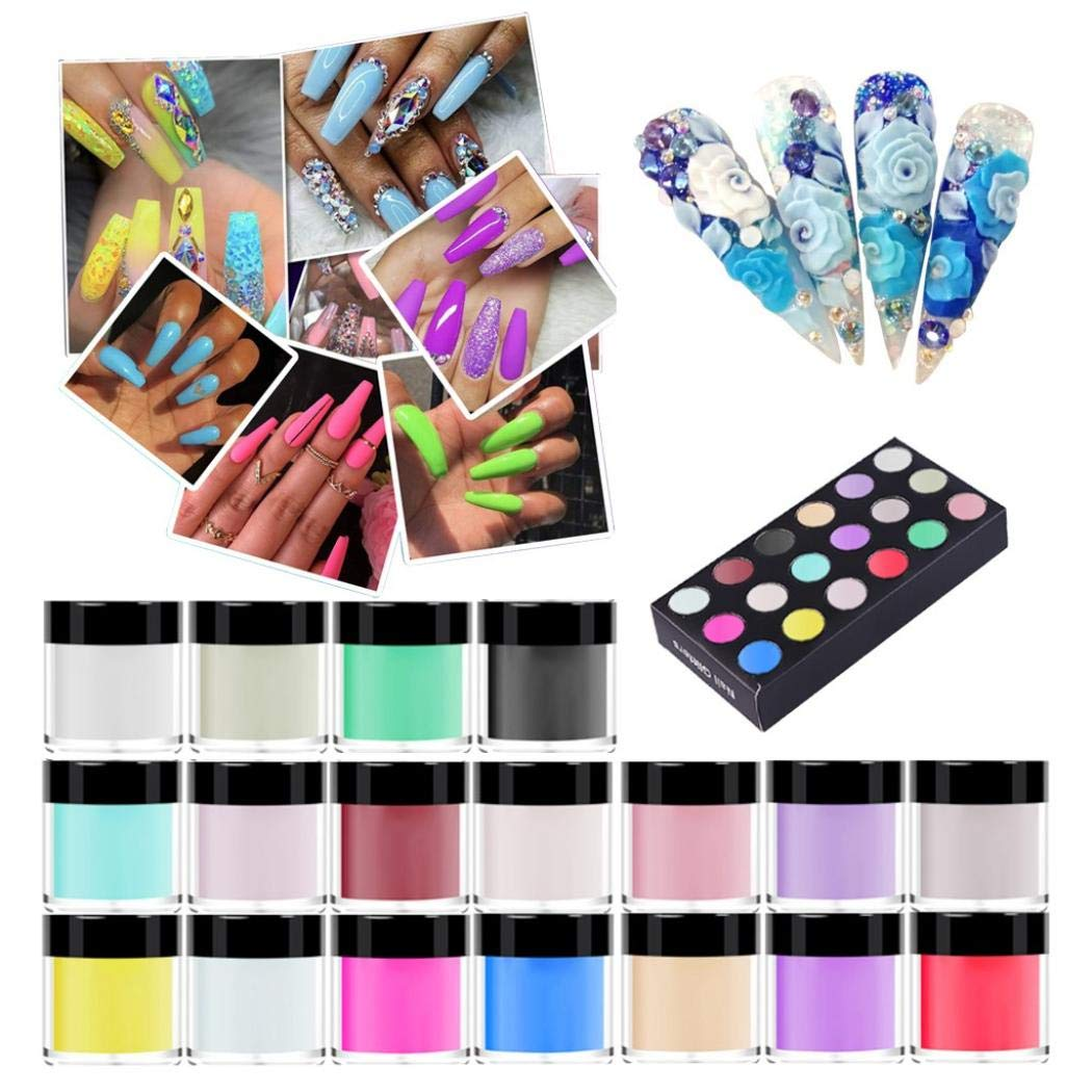 Amazon Promo Code for 18 Colors Nail Acrylic Powder Set For DIY