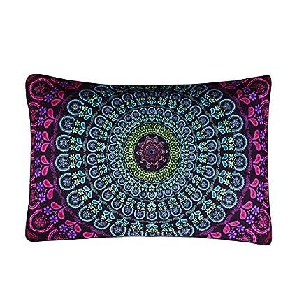 Amazon Sleepwish Boho Pillow Case Posture Million Printed Stunning 36 Inch Square Pillow Cover