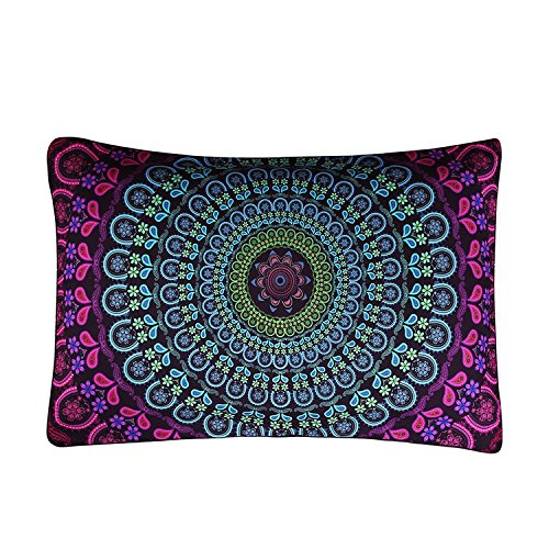 Sleepwish Boho Pillow Case Posture Million Printed Pillowcas