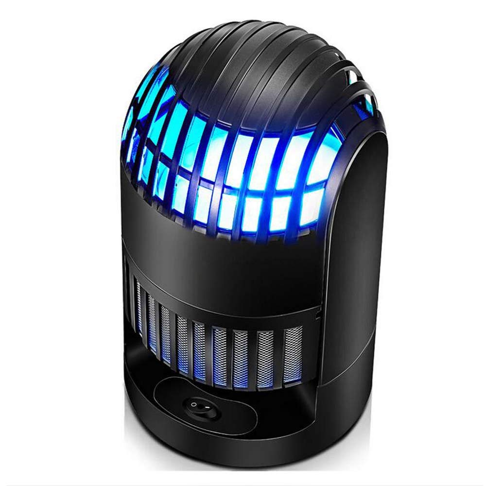 LED Electronic Mosquito Killer Lamp, Household Photocatalyst Mosquito Lamp, Bug Zapper, Ultra-Quiet, No Radiation, Portable