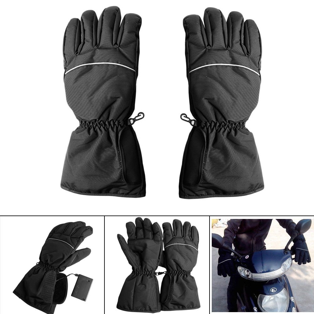 Amazon Waterproof Heated Gloves Battery Powered For Motorcycle Hunting Winter Warmer Sports Outdoors