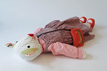 "Muneco de peluche artesanal ""Ratita"""