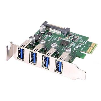 cablecc - Adaptador de Tarjeta de expansión PCI Express (4 ...