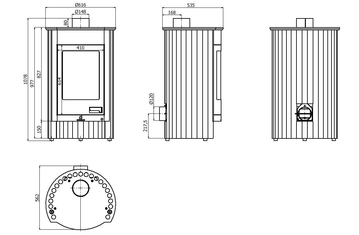 Master Llama hsf41 - 003 - Horno de aire caliente Medie I ...